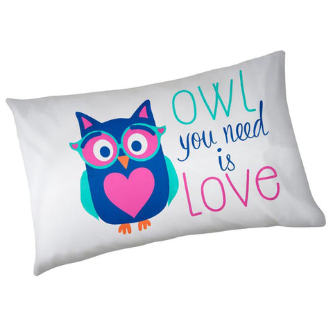 Owl Pillowcase