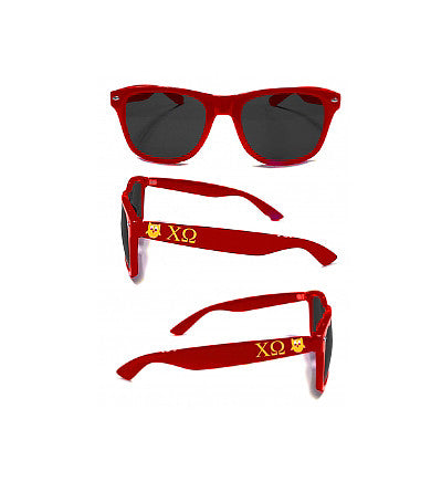 Red Chi Omega Sunglasses