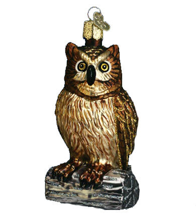 Old World Christmas® Wise Old Owl Ornament