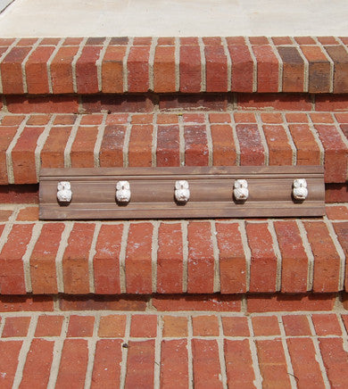 Wooden Beam With Owl Hooks