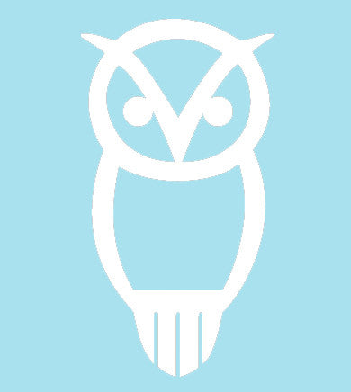 Silhouette Owl Decal
