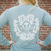Long Sleeve Crest Tee