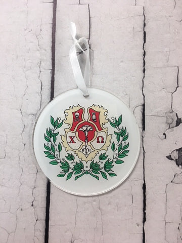Crest Ornament