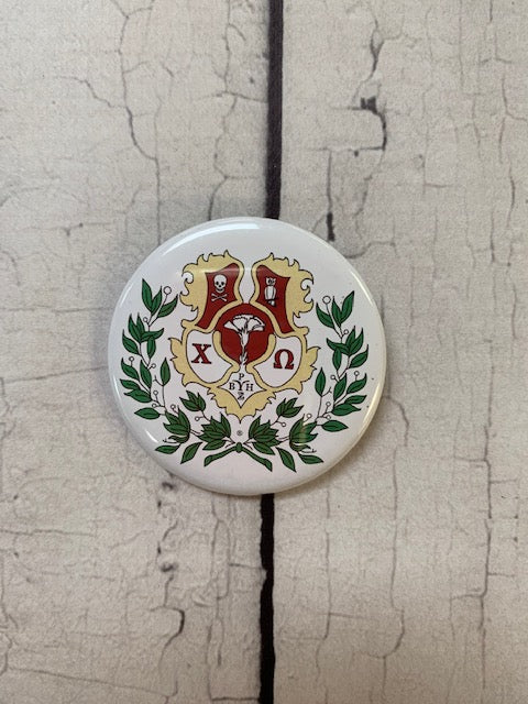 Crest Button - Chi O Creations