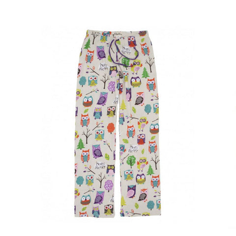 Owl Cotton Pajama Pants