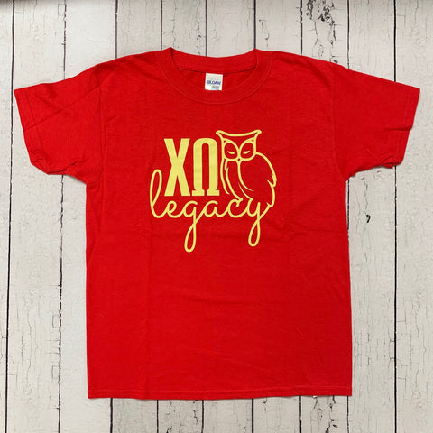 Chi O Legacy Youth Tee