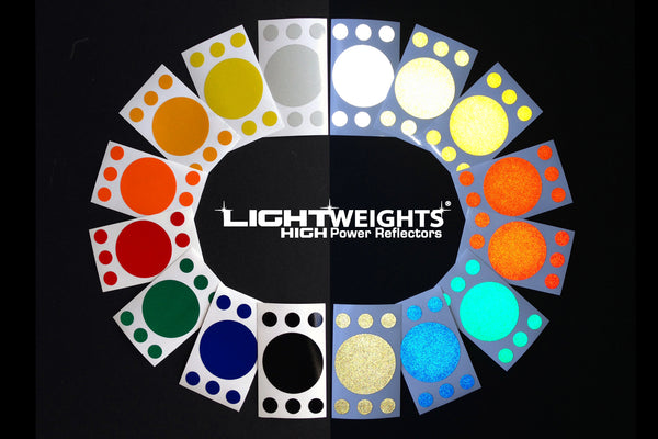 Lightweights Deep Blue Dots 7