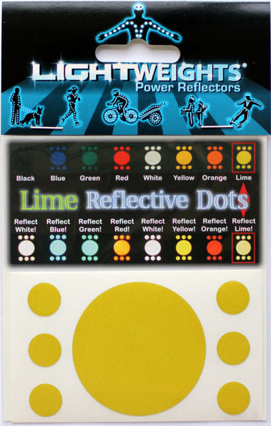Lightweights Lime Dots 7
