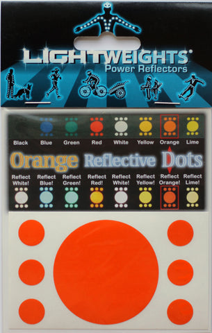 Lightweights Orange Dots 7