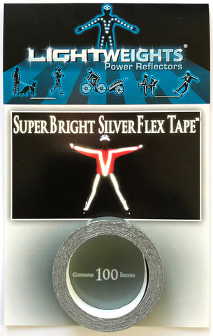 Lightweights Silver Flex Tape 100