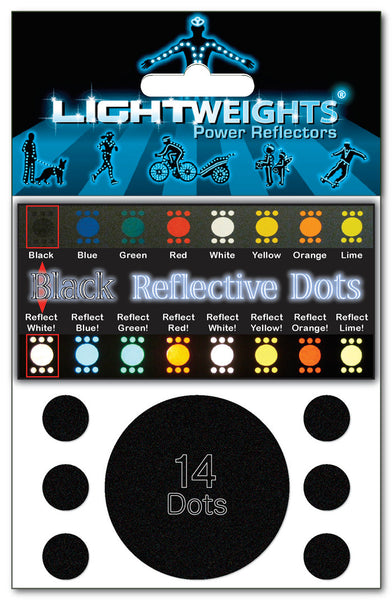Lightweights Stealth Black Dots 14