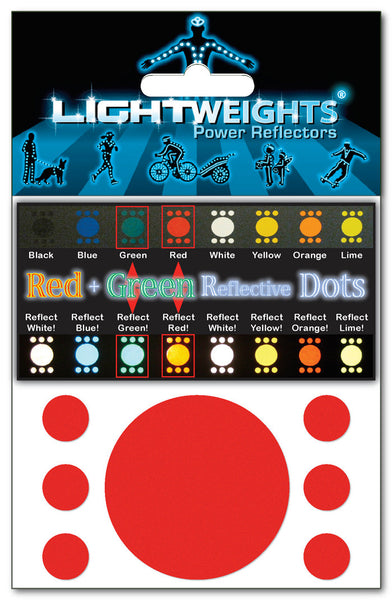 Lightweights Red+Green Dots 14