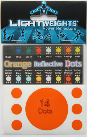 Lightweights Orange Dots 14