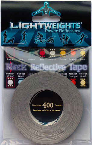 Lightweights Stealth Black Tape 400
