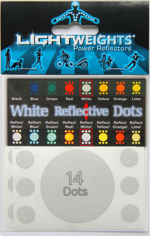 Lightweights White Dots 14
