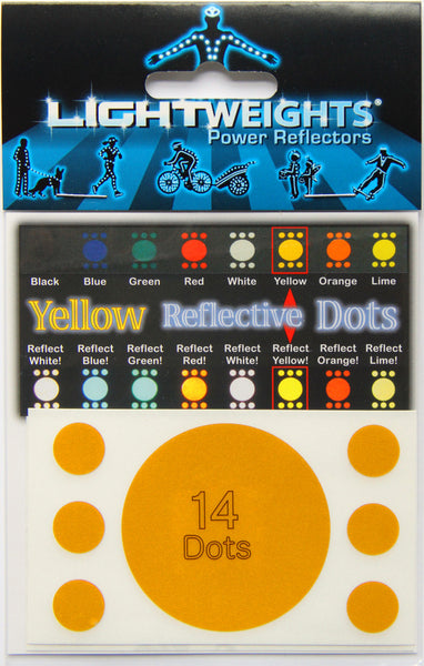 Lightweights Yellow Dots 14