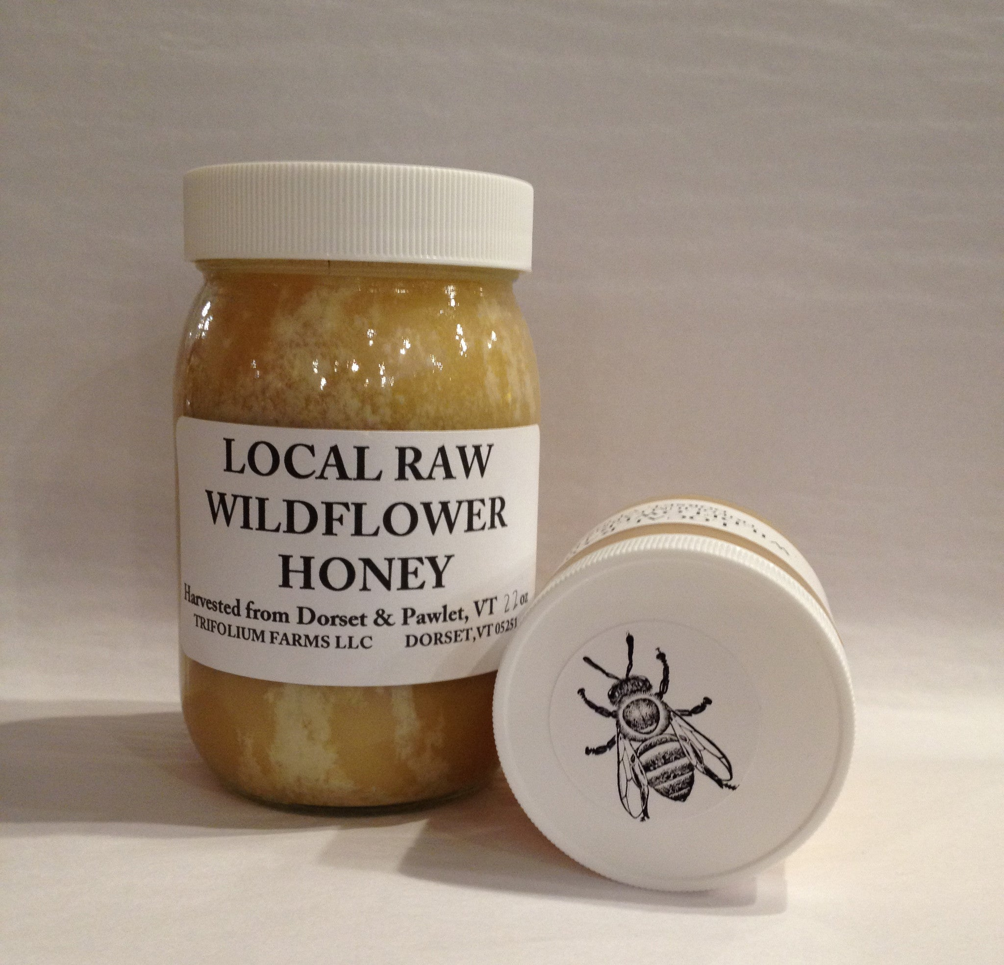 Raw Wild Flower Honey