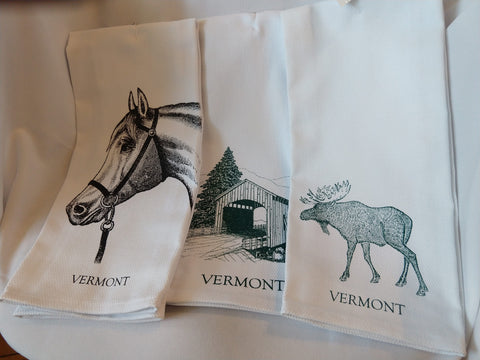 Vermont Tea Towels
