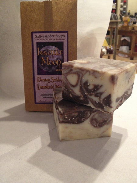 Salle Ander Milk & Mint or Lavender Moon Soaps