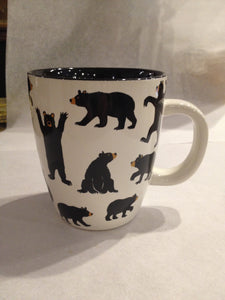 Bear Decorated Coffee Mug