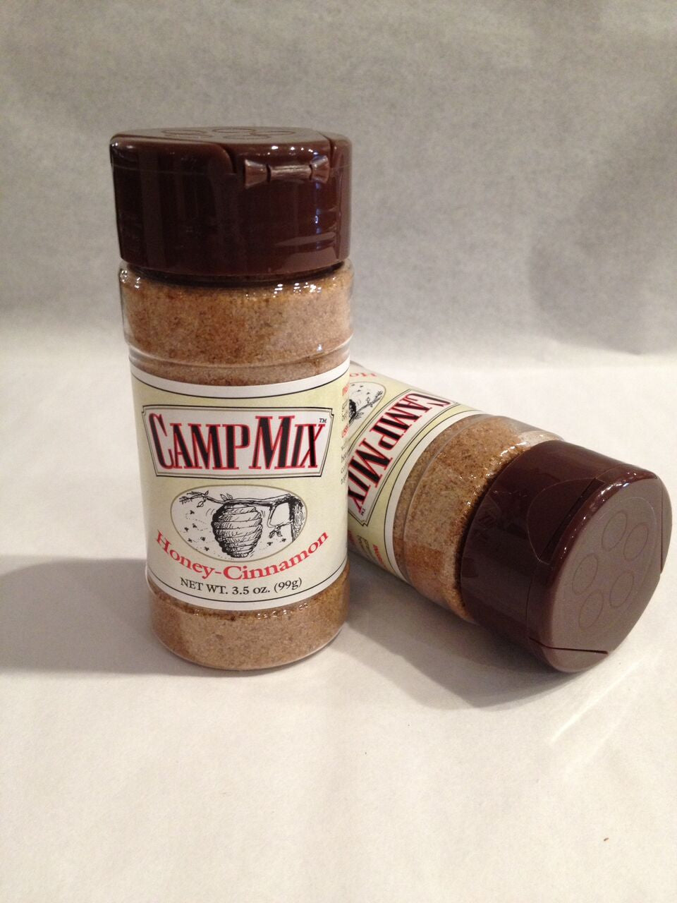 Honey-Cinnamon CAMP MIX is a mouthwatering blend of brown sugar, honey solids and cinnamon