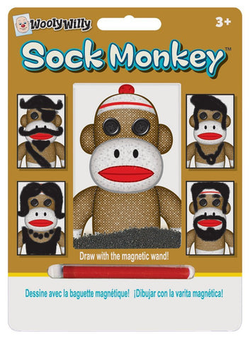 Wooly Willy Sock Monkey