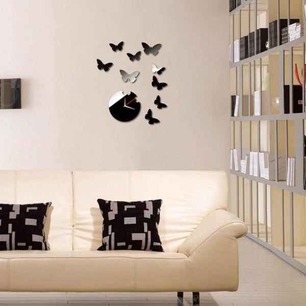 Butterfly DIY Acrylic 3D Mirror Wall Decal Wall Sticker Home Decoration