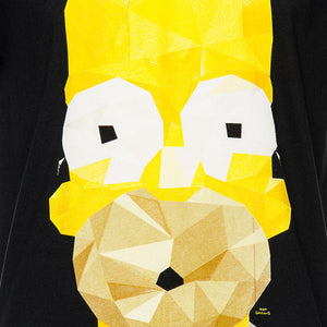 Playera Homero Simpson Negra