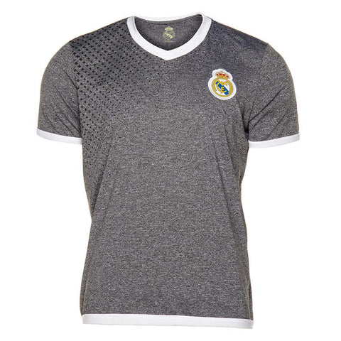 Playera de Futbol Real Madrid Cuello V