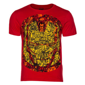 Playera Iron Man Faces Frente