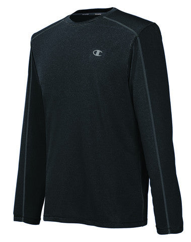 Playera Deportiva Champion Powertrain Heather Long Sleeve Tee