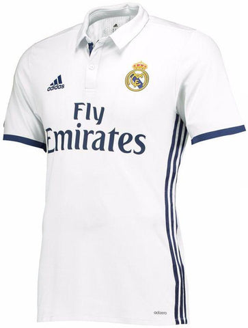 Playera De Futbol Real Madrid 2016-17 Home