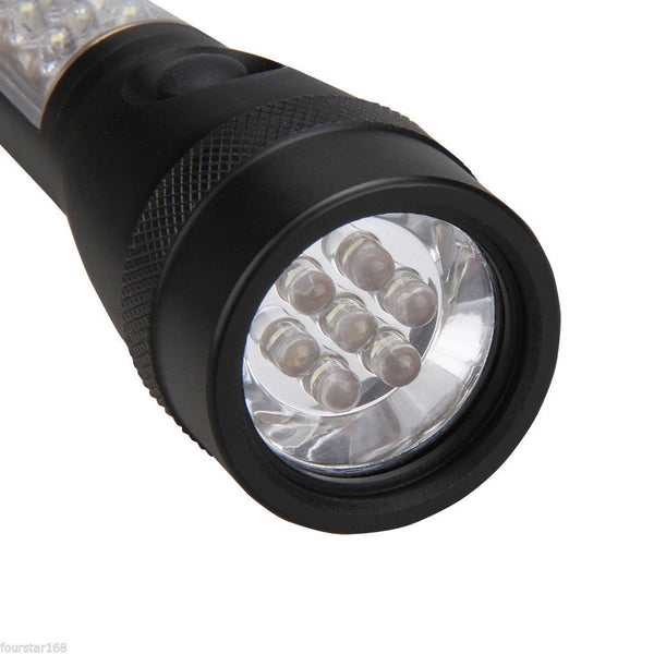 3S Plus 3-in-1 High-Lumen 3 Modes Vehicle Emergency Flashlight Black
