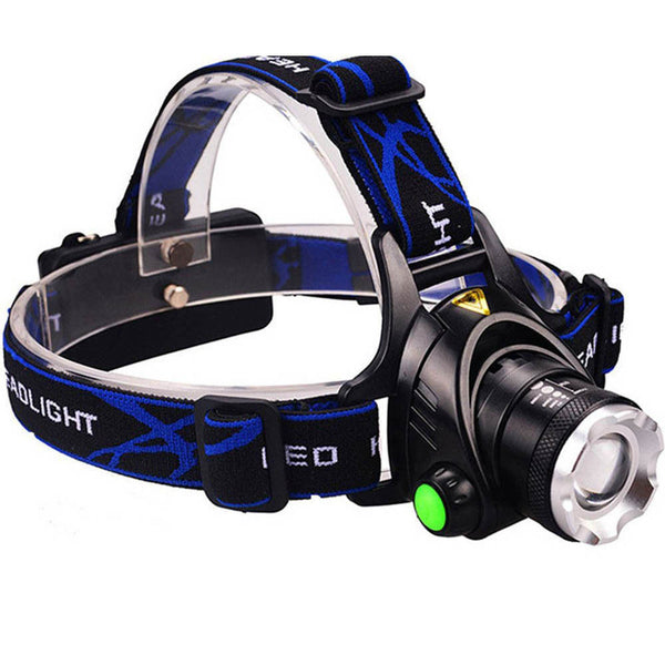 Bright Adjustable Focus Head Lamp