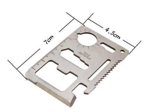 Multi Tool Survival Credit Card