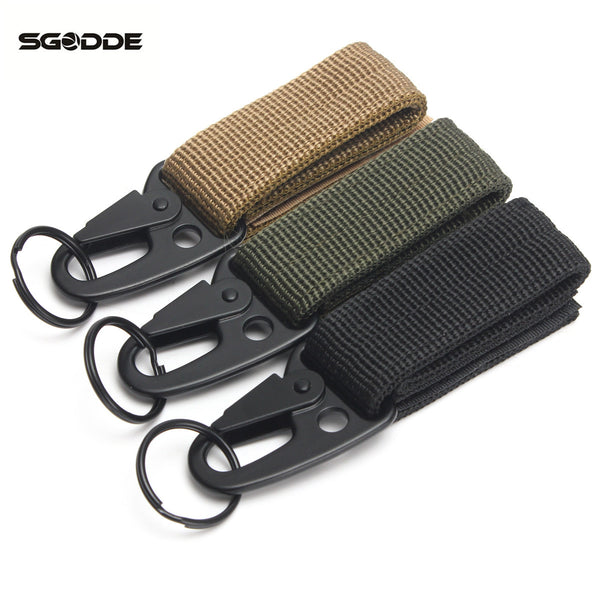 Tactical Nylon Belt keychain