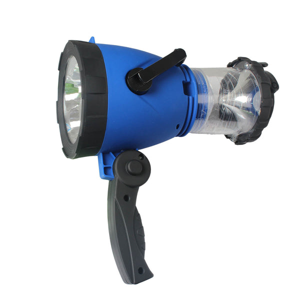 Hand Crank LED Lantern Light Lamp - Emergency Spotlight