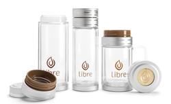 Libre tea glass