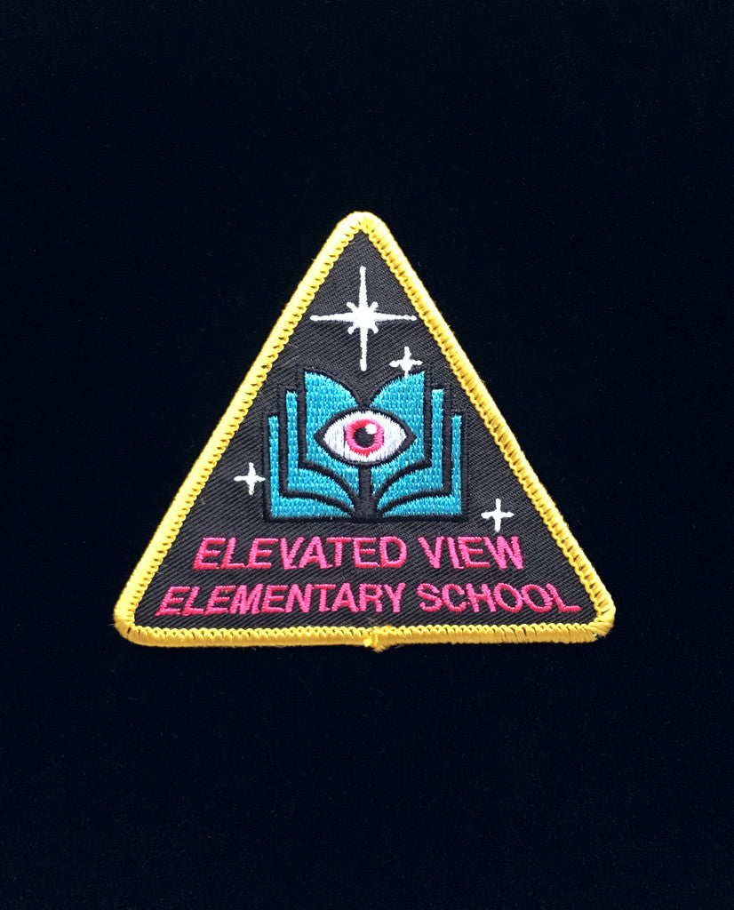 Elevated View Elementary Patch