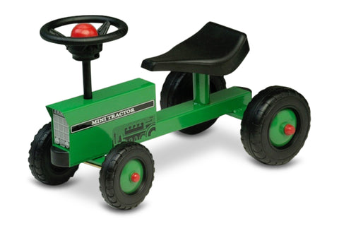 Green Mini Tractor Scoot-A-Long Ride-On Toy