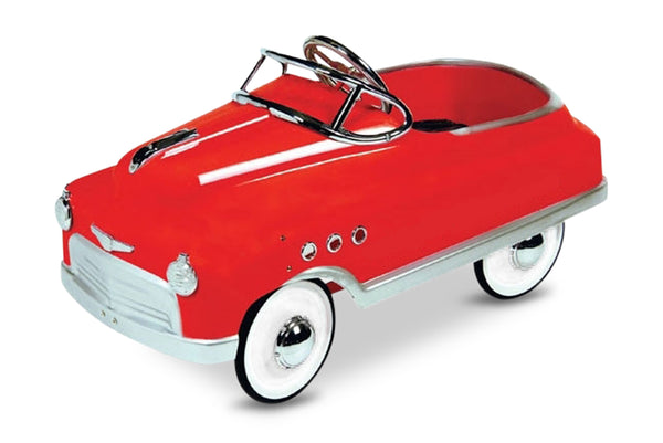 Red Comet Pedal Car