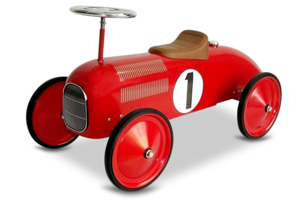 Red Racer Scoot-A-Long Ride-On Toy