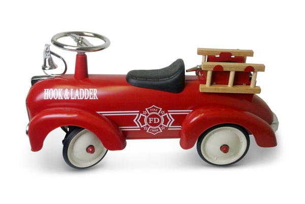 Speedster Scoot-A-Long Ride-On Fire Truck