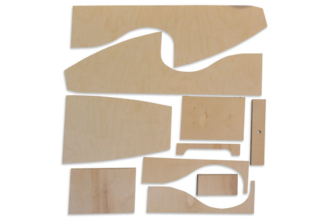 Wood Pedal Car Kit ( Wood Only)