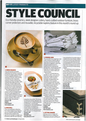 article about Lindolino table linen, Lindolino white linen table linen ,cream linen table linen, natural linen table linen, linen placemats, linen runners, linen napkins, linen tablecloths