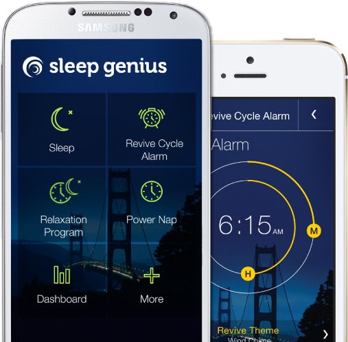 sleep genius app iphone android restful insomnia