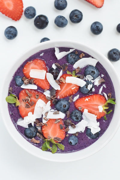 Berry Smoothie Bowl Recipe by Wildly Wholesome