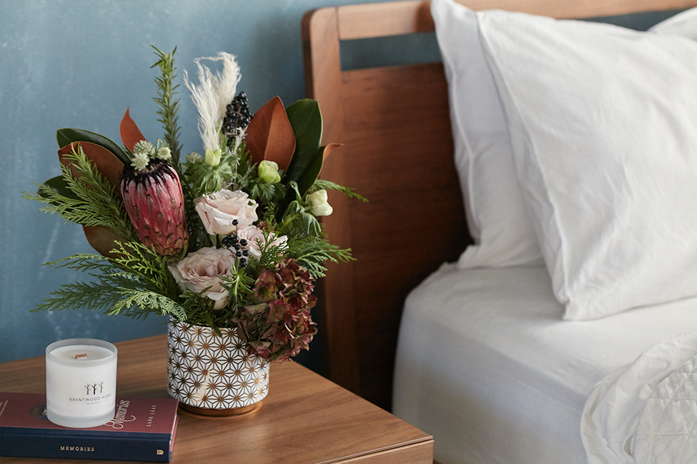 Holiday Bouquet for Guest Rooms