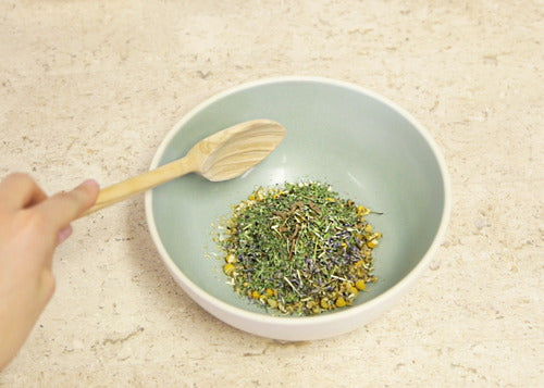 tea chamomile diy recipe calm soothing