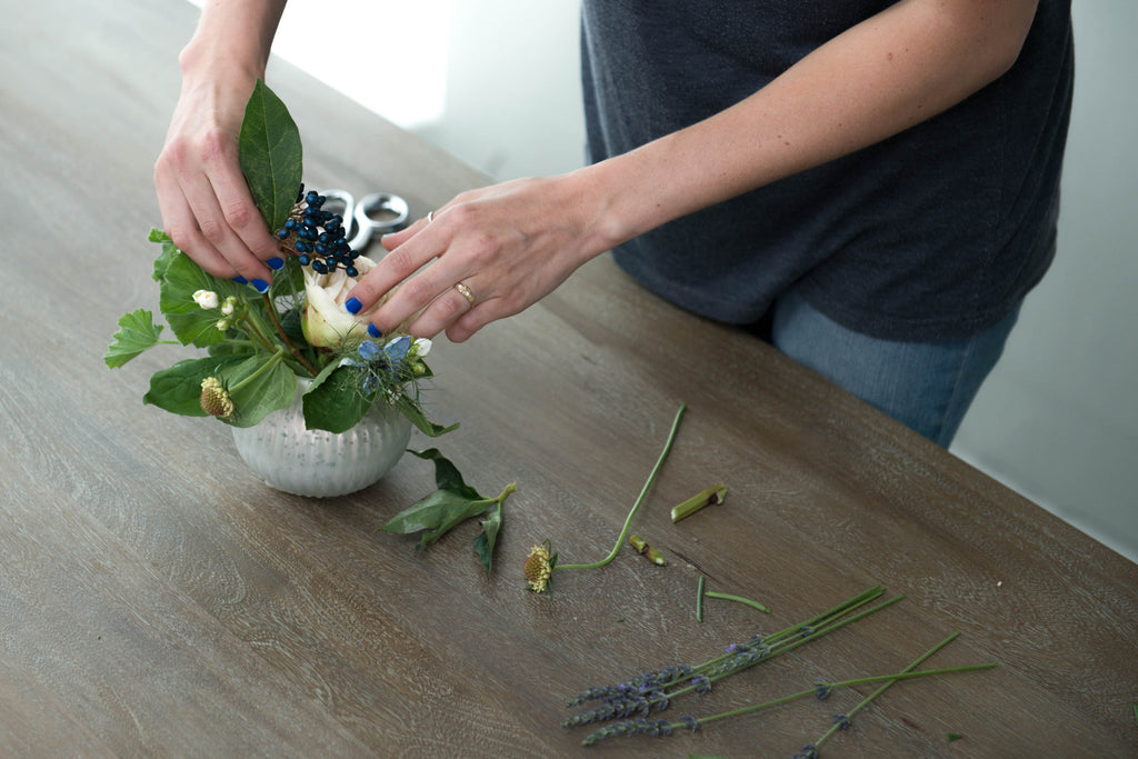 brentwood home wild roots los angeles diy floral bouquet